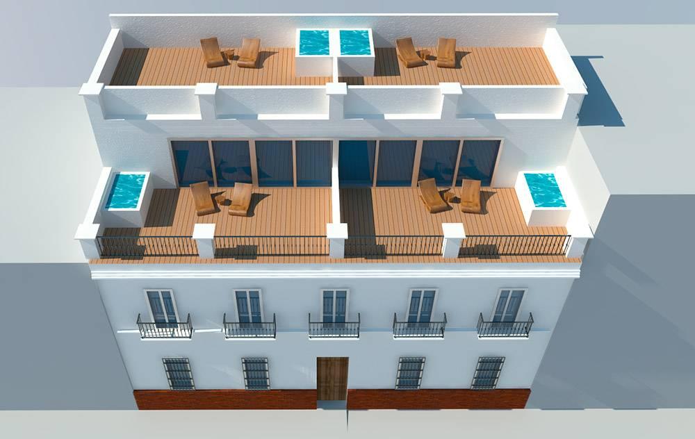 Portfolio de madulob proyectos y trabajos de arquitectura for Piscina municipal bormujos