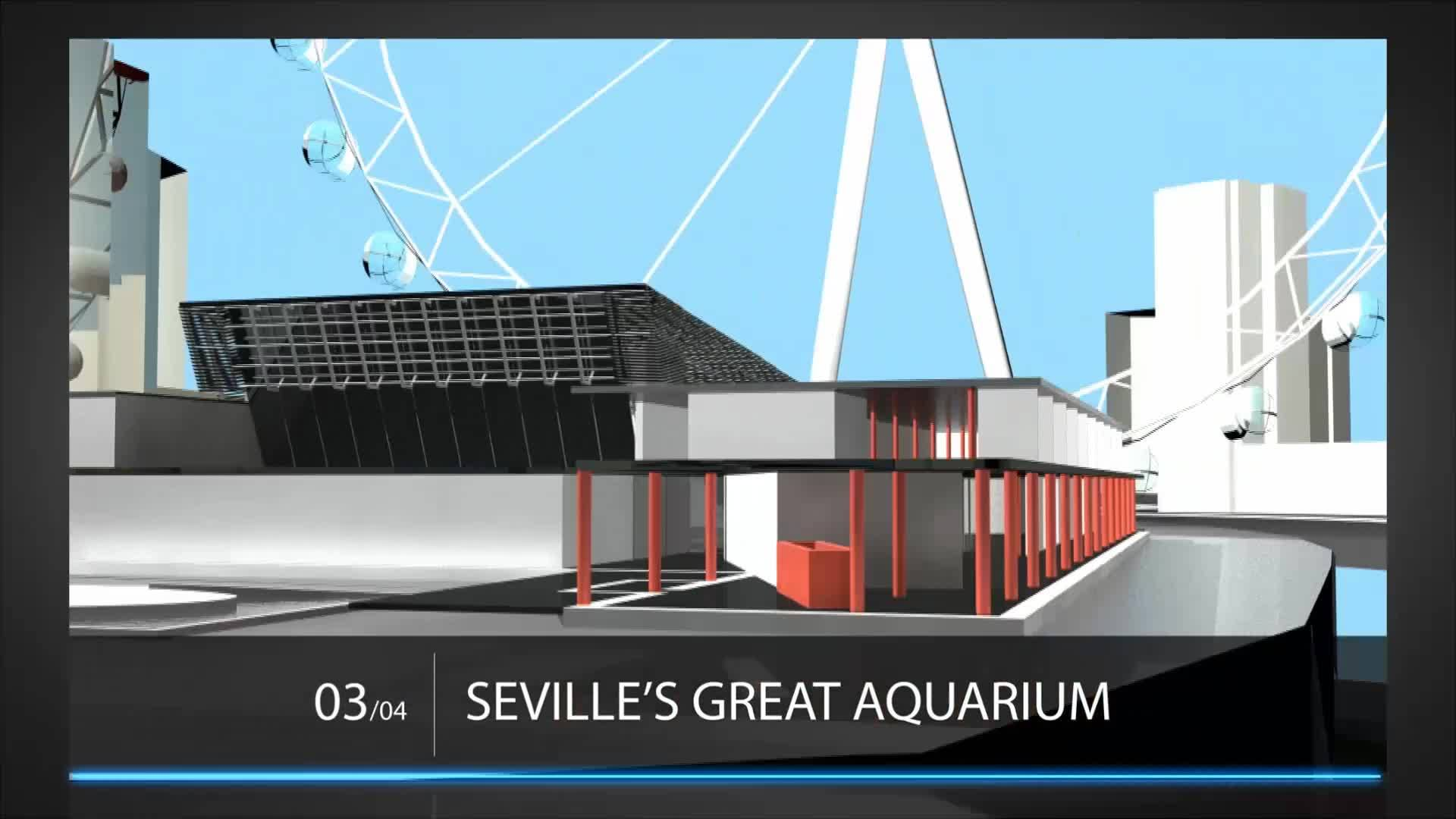 Dise o y animaci n en 4d arquitectos de madulob for Piscina municipal bormujos